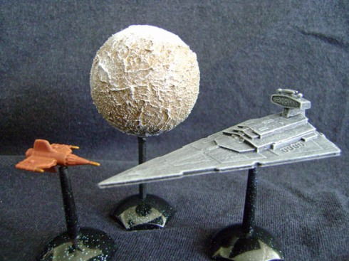 Imperial Star Destroyer fleet scale