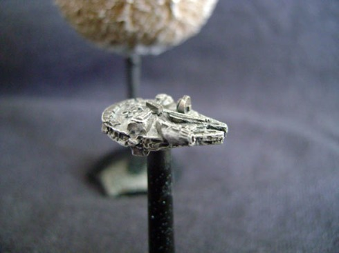 Millennium Falcon Fleet Scale