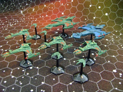 Klingon Battlefleet