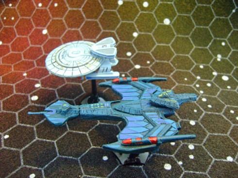 Klingon Negh'Var and Nebula Class