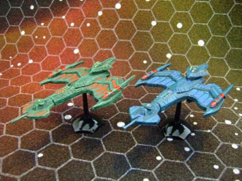 Pair of Klingon Negh'Var's