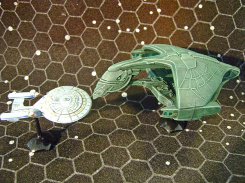Warbird and Galaxy class