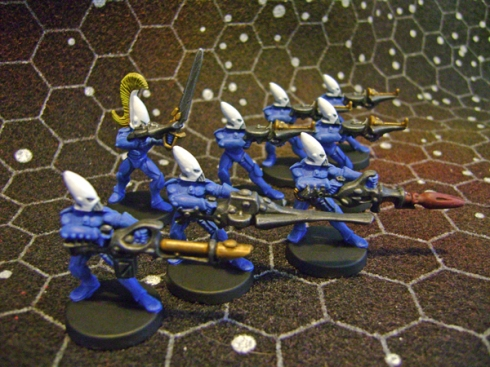 Space crusade Eldar