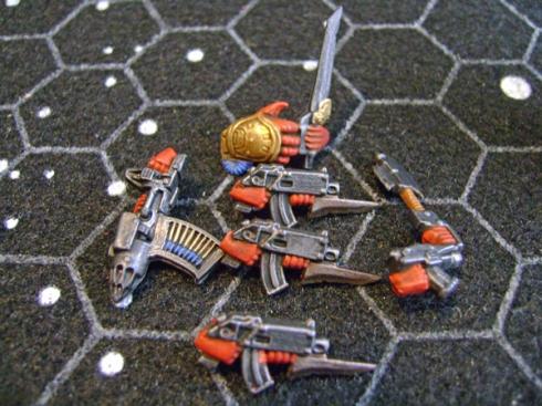 Space crusade Space marines