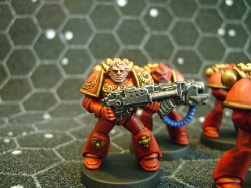 Space crusade Space marines