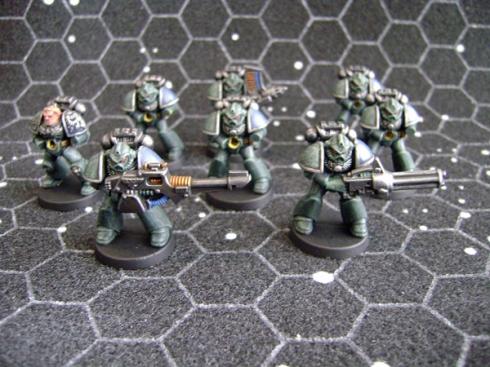 Space Crusade Space Marines Green