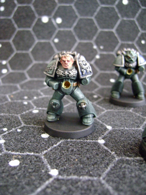 Space Crusade Space Marines Green