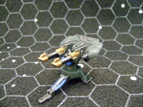 Space marines green laser 2