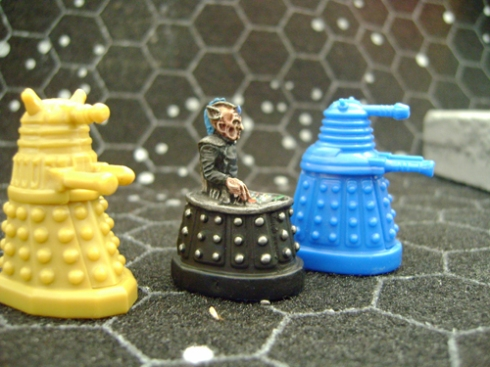 Davros and the Daleks