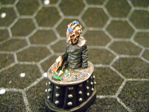 Davros and the Daleks