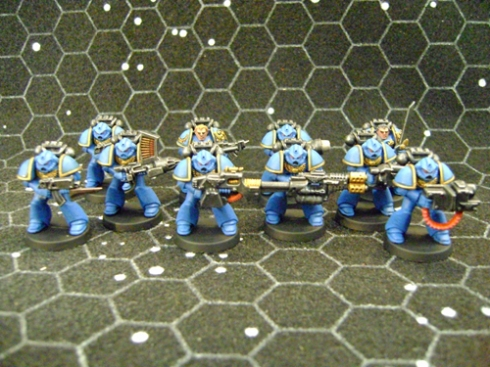 Space marines Blue 1