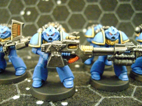 Space marines Blue 2