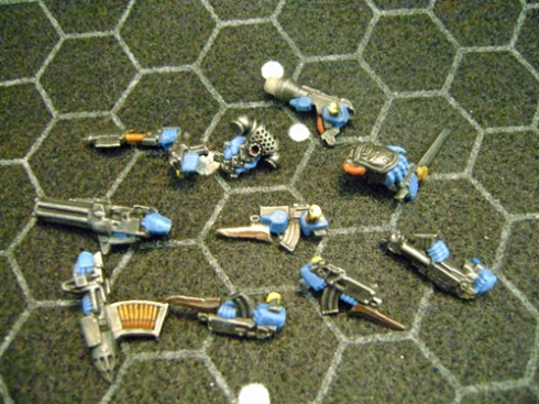 Space marines Blue 6