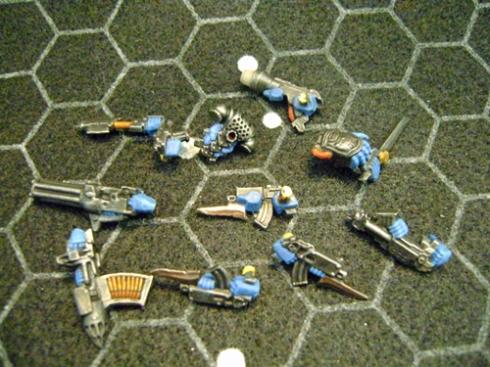 Space marines Blue 6