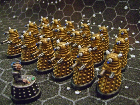 28mm Gold Daleks