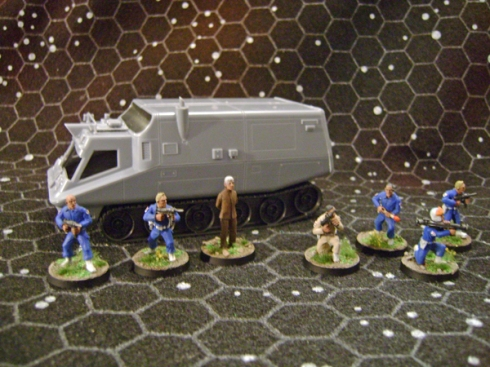 UFO SHADO Troops