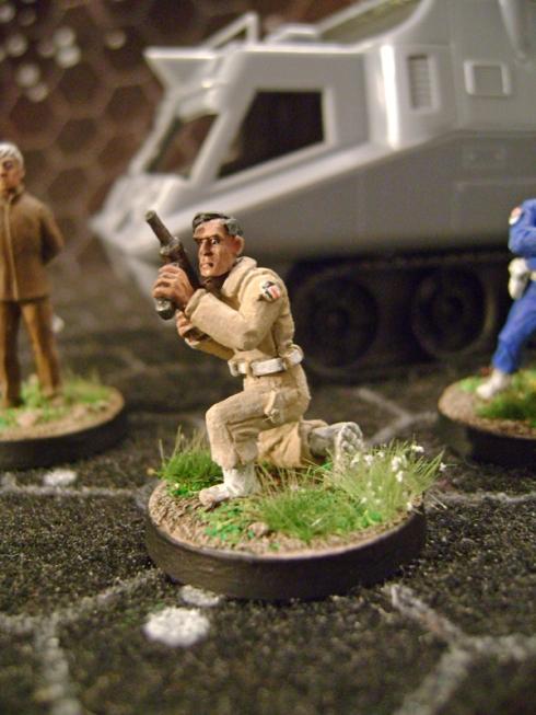UFO SHADO Troops