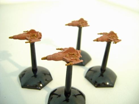 Terran federation starburst class