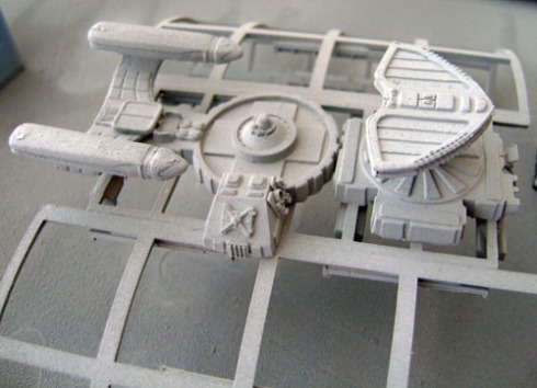 Crew section/Warp Nacelles/Bridge/sensor Pod
