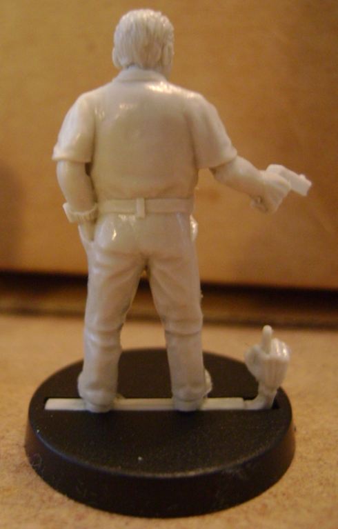 28mm Resin Modern gangster