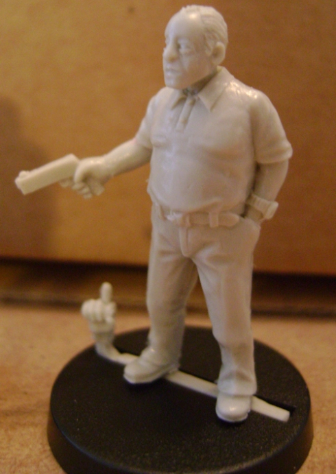 28mm modern resin gangster