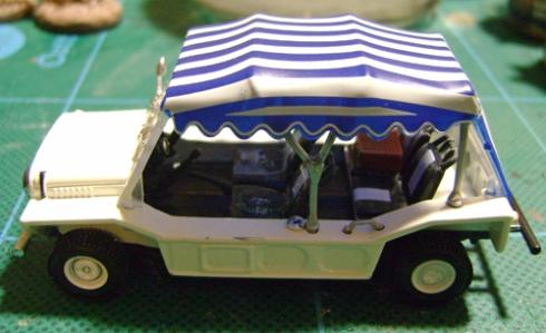1/43 James Bond Collection Mini Moke