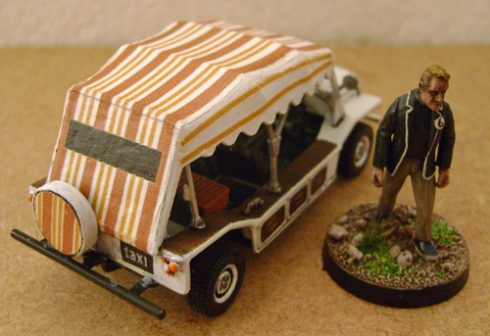 1/43 Prisoner Mini Moke Conversion