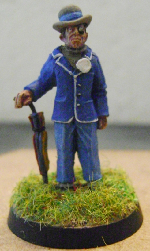 A figure from Artizan's Thrilling Tales Range with an added badge!
