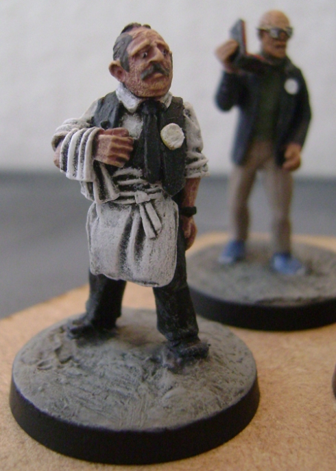 Another Figure From Artizan, this time a waiter with added badge