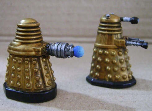 DW Dalek section Gold