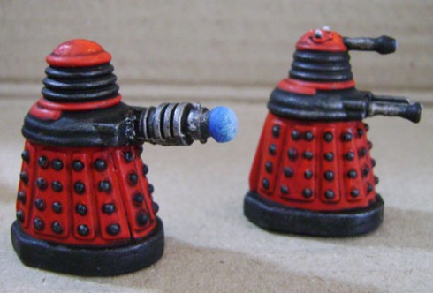 DW dalek section red