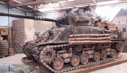 Fury film tank