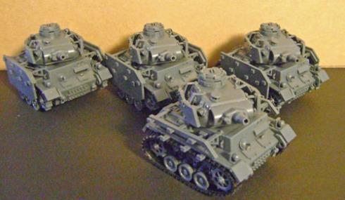 meng Panzer III company